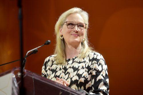 Meryl Streep at the Toronto International Film Festival in September 2019