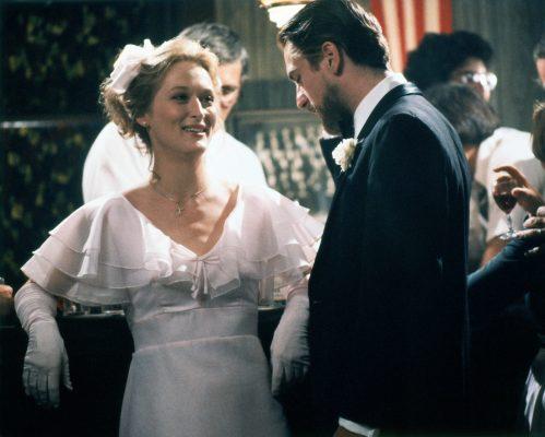 Meryl Streep and Robert De Niro on the set of