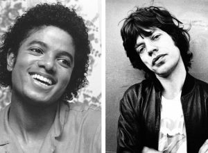 Michael Jackson and Mick Jagger