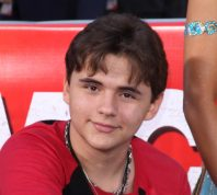 Prince Jackson at Grauman's Chinese Theater in 2012