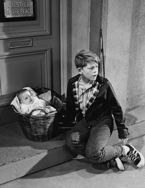 """Ron Howard on """"The Andy Griffith Show"""" in 1966"""