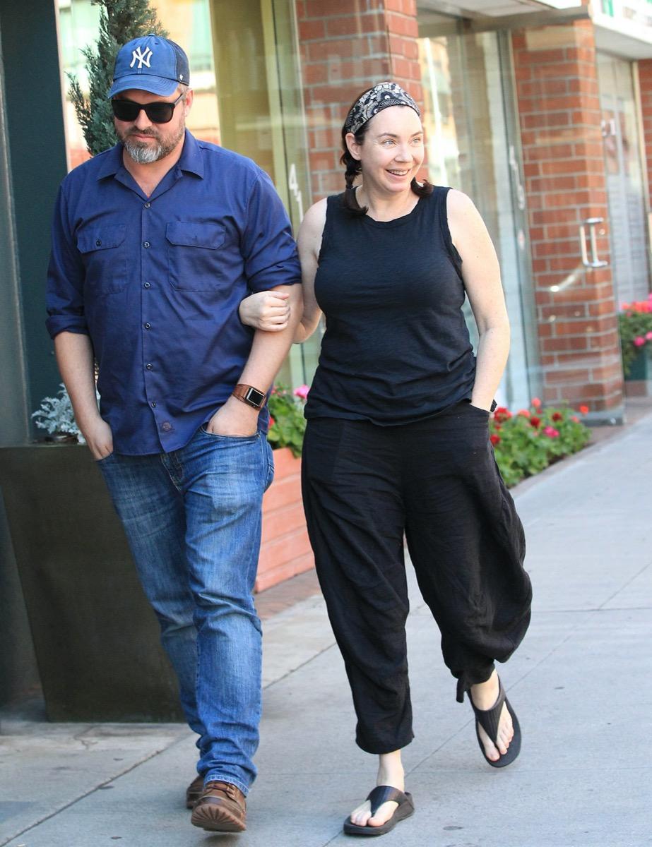 Stephanie Courtney and husband