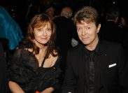 Susan Sarandon and David Bowie at the Metropolitan Opera Opening Night Dinner in September 2006