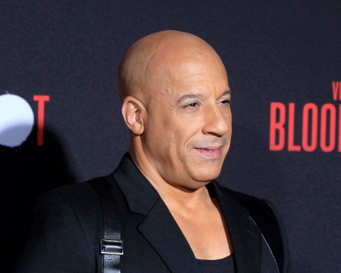 """Vin Diesel at the premiere of """"Bloodshot"""" in March 2020"""