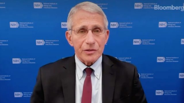 fauci interview with Bloomberg on mixing and matching vaccines