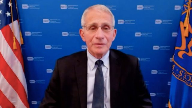 fauci interview on ABC News 7 talking about ending the pandemic