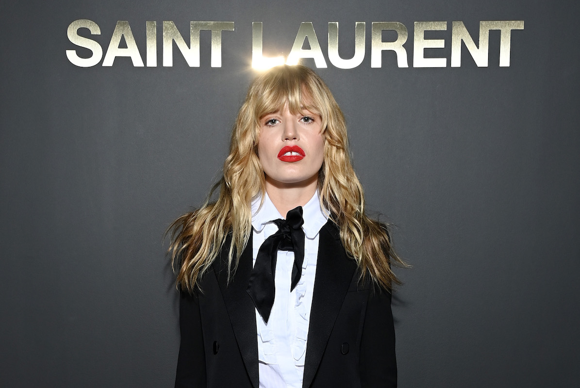 Georgia May Jagger attends the Saint Laurent Womenswear Spring/Summer 2022 show as part of Paris Fashion Week on September 28, 2021 in Paris, France.
