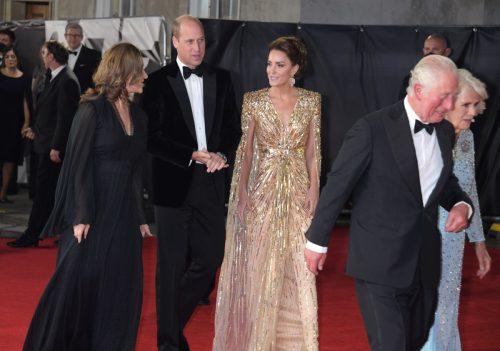 Kate Middleton at James Bond movie premiere