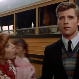 """Didi Conn and Maxwell Caulfield in """"Grease 2"""""""