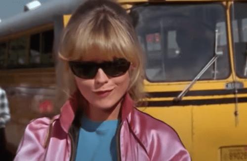 "Michelle Pfeiffer in ""Grease 2"""