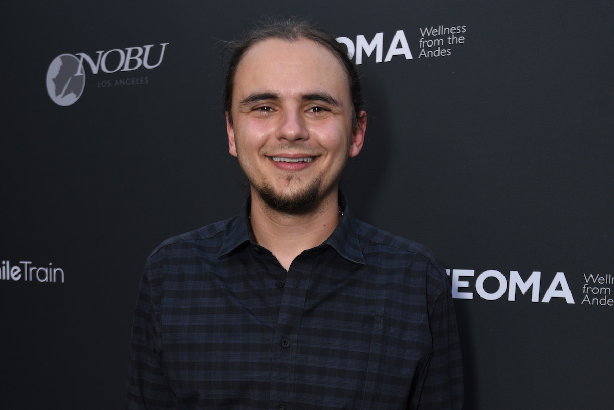 Prince Jackson attends Smile Train All Smiles Are Beautiful Launch Party at Nobu on October 01, 2021 in Los Angeles, California.