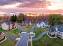 Affluent American suburb