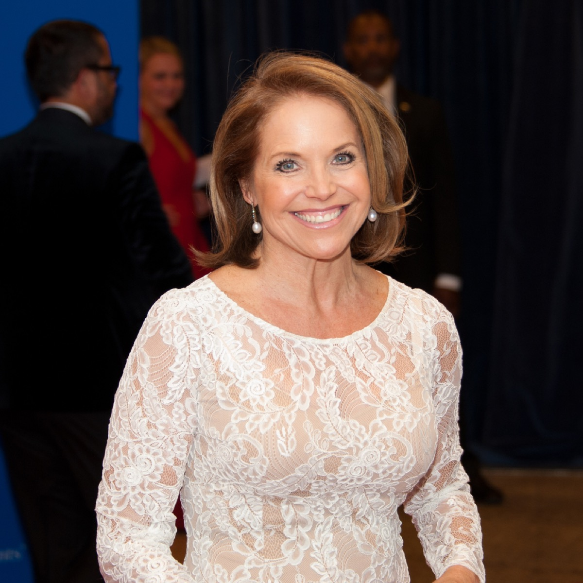 katie couric at a white house event