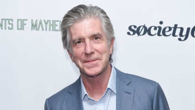Tom Bergeron appearing on the red carpet at an event
