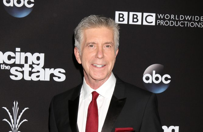 TV host Tom Bergeron on the red carpet at an event