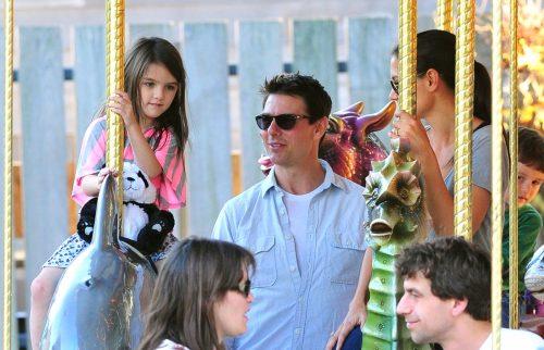 Tom Cruise, Suri Cruise, and Katie Holmes 2011