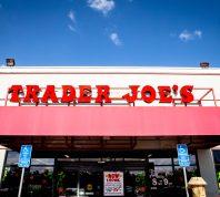 The exterior of a Trader Joe's supermarket
