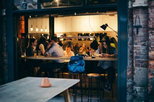 window open in restaurant