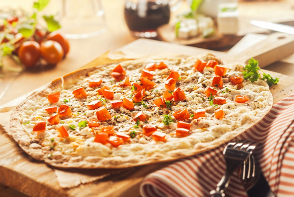 pizza on countertop awesome facts
