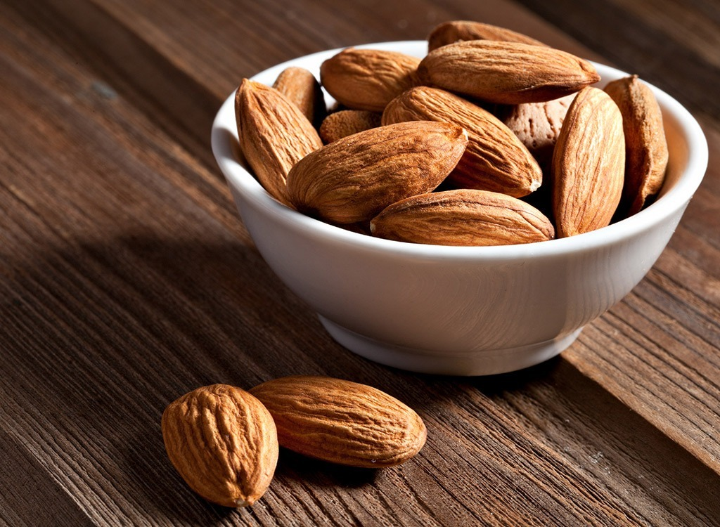 Almonds snack food nuts