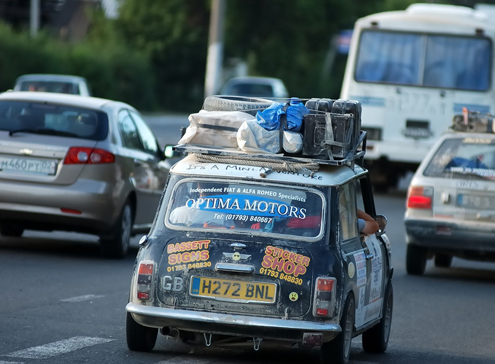 Mongol Rally Adventures