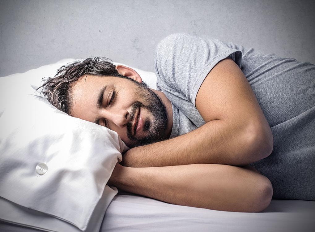 Man Sleeping Life in 200 Years