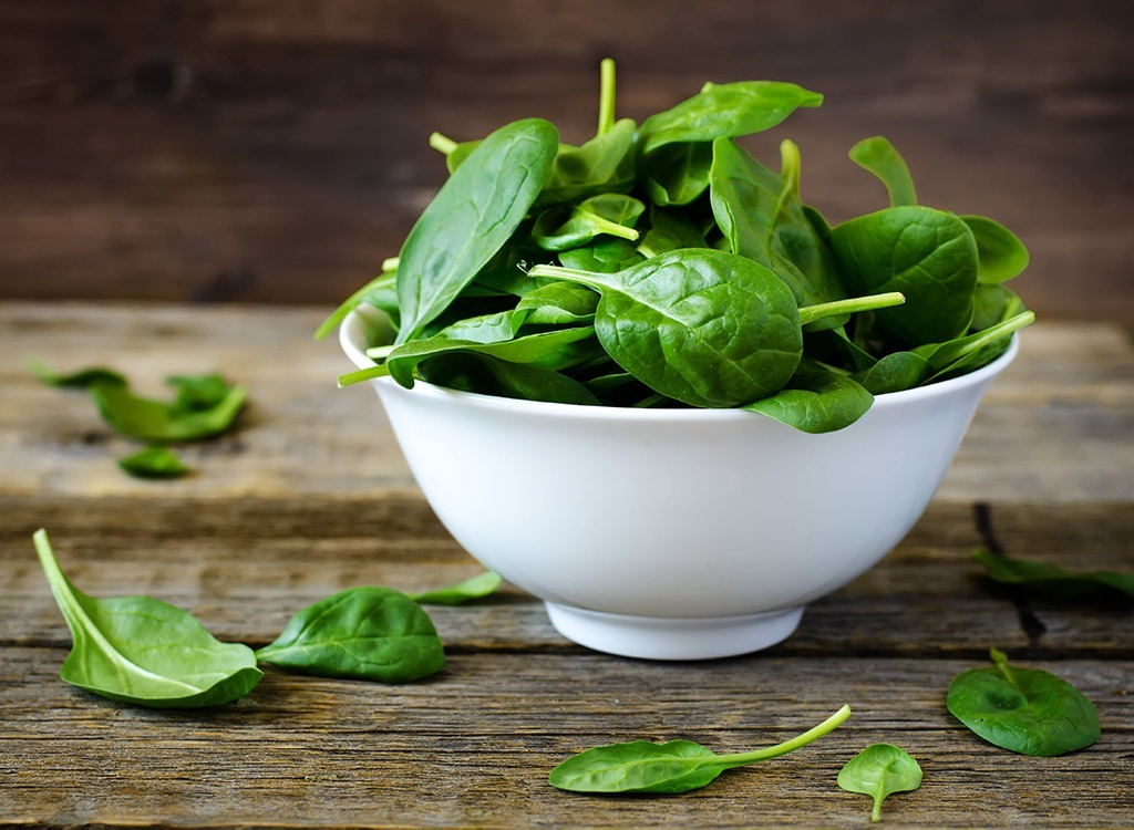 Bowl of Spinach, controlling cravings