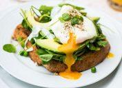 An egg breakfast