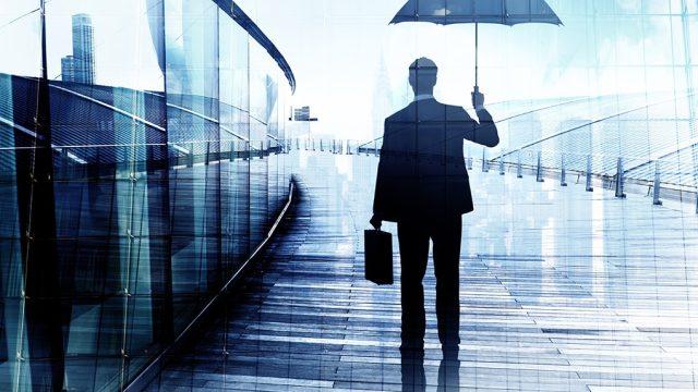 Umbrella, Businessman