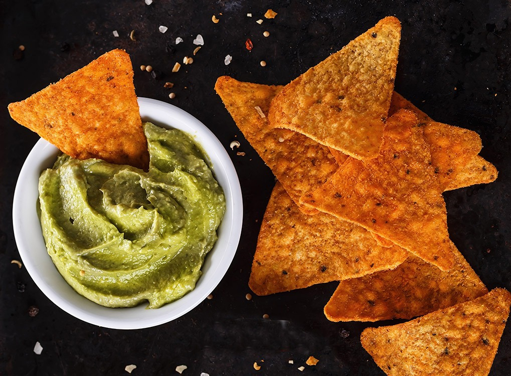 Doritos with guacamole