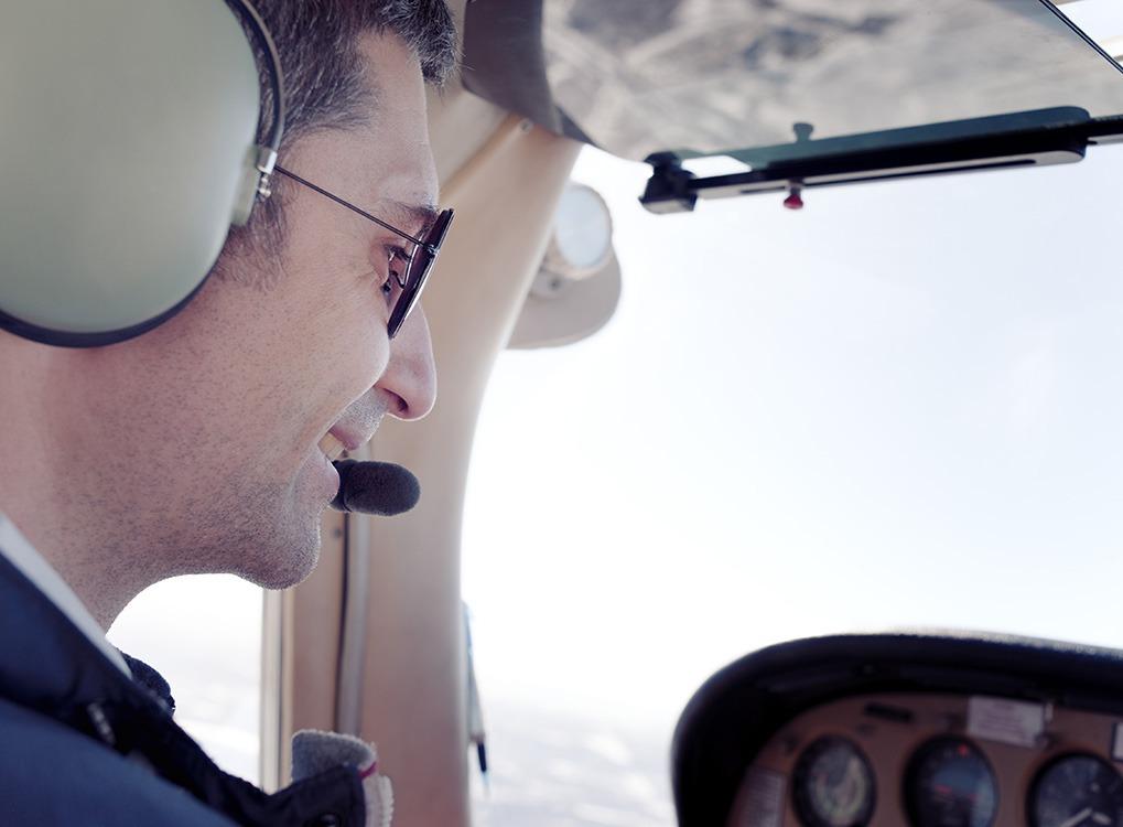 Man Piloting a Plane Adventures