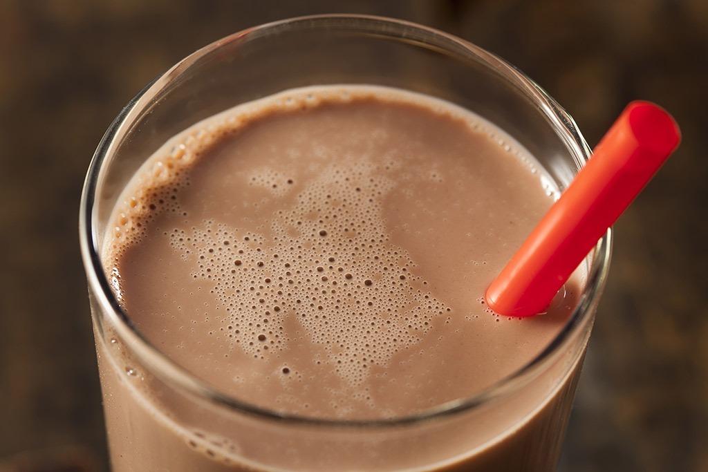 chocolate milk food over 40
