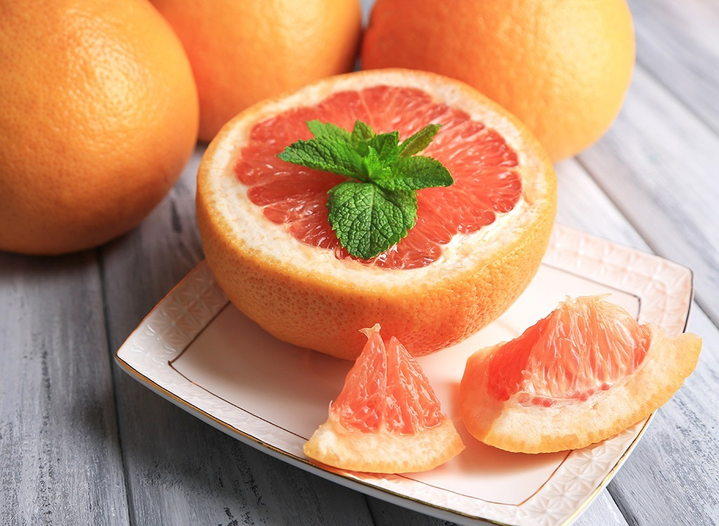 Grapefruit only is no good way to lose weight
