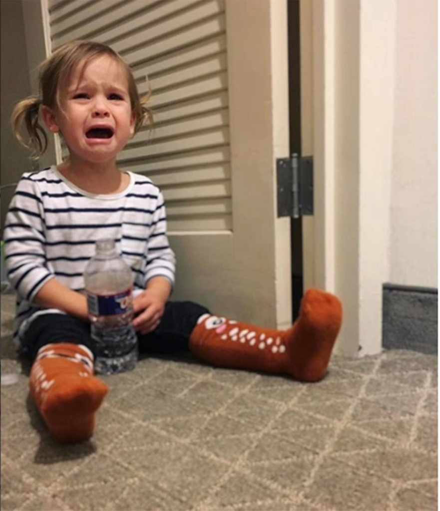 Young Girl Crying Parenting