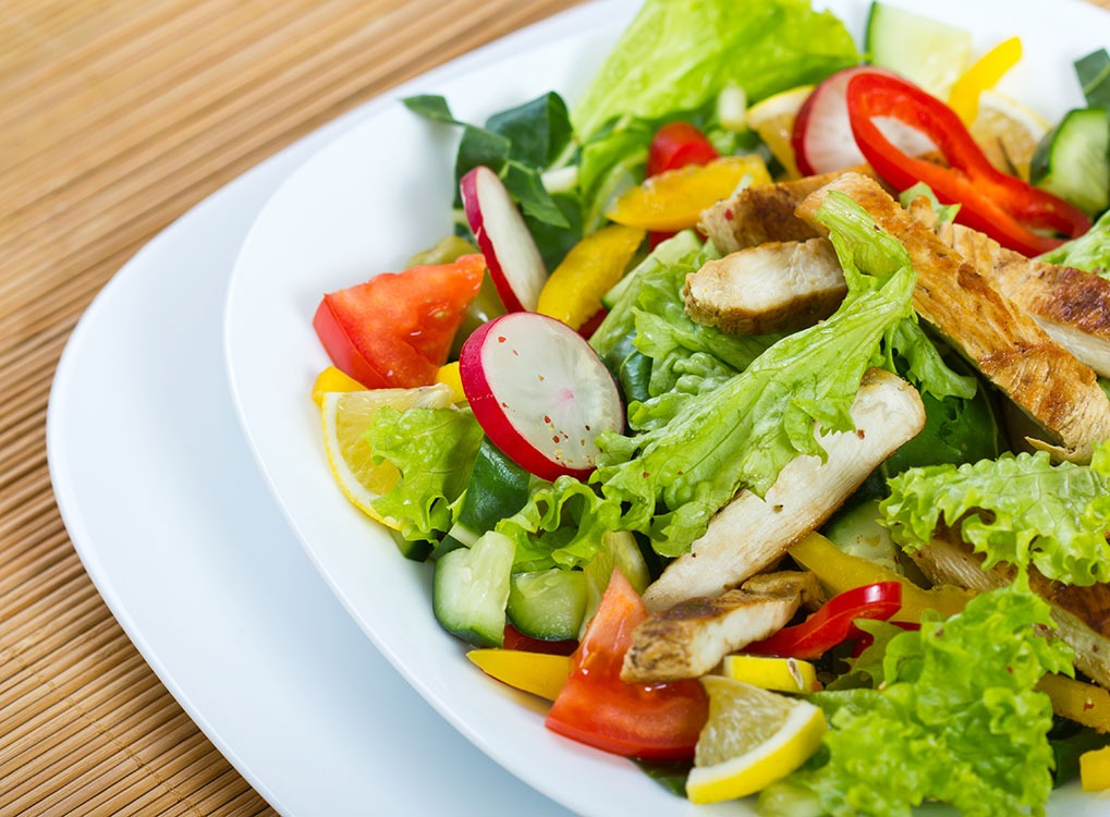 eating salad all the time won't help you lose weight