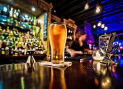 beer in a bar