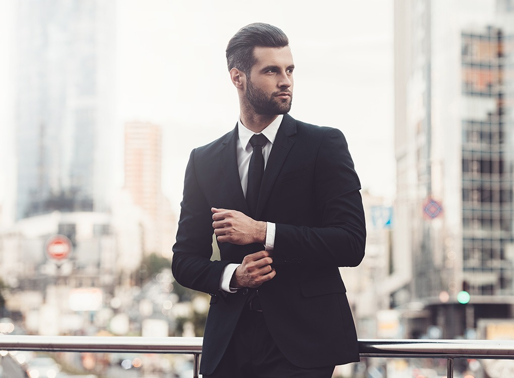 Confident Businessman Workplace Stress-Busters