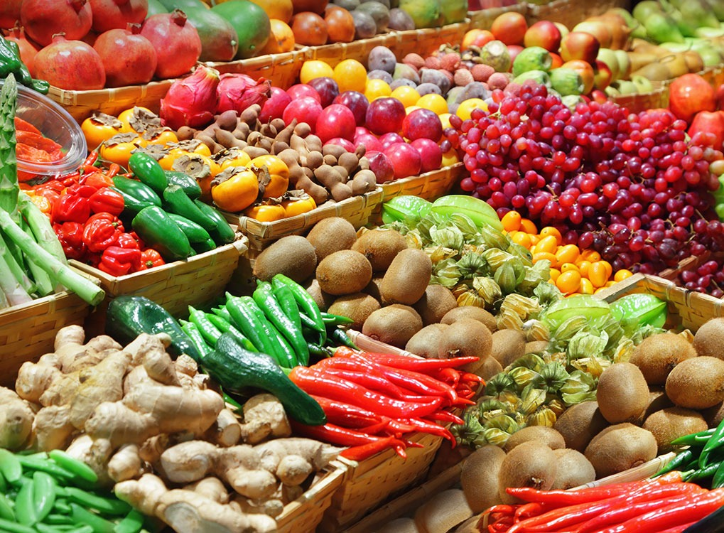 Fruits and Vegetables boost Metabolism