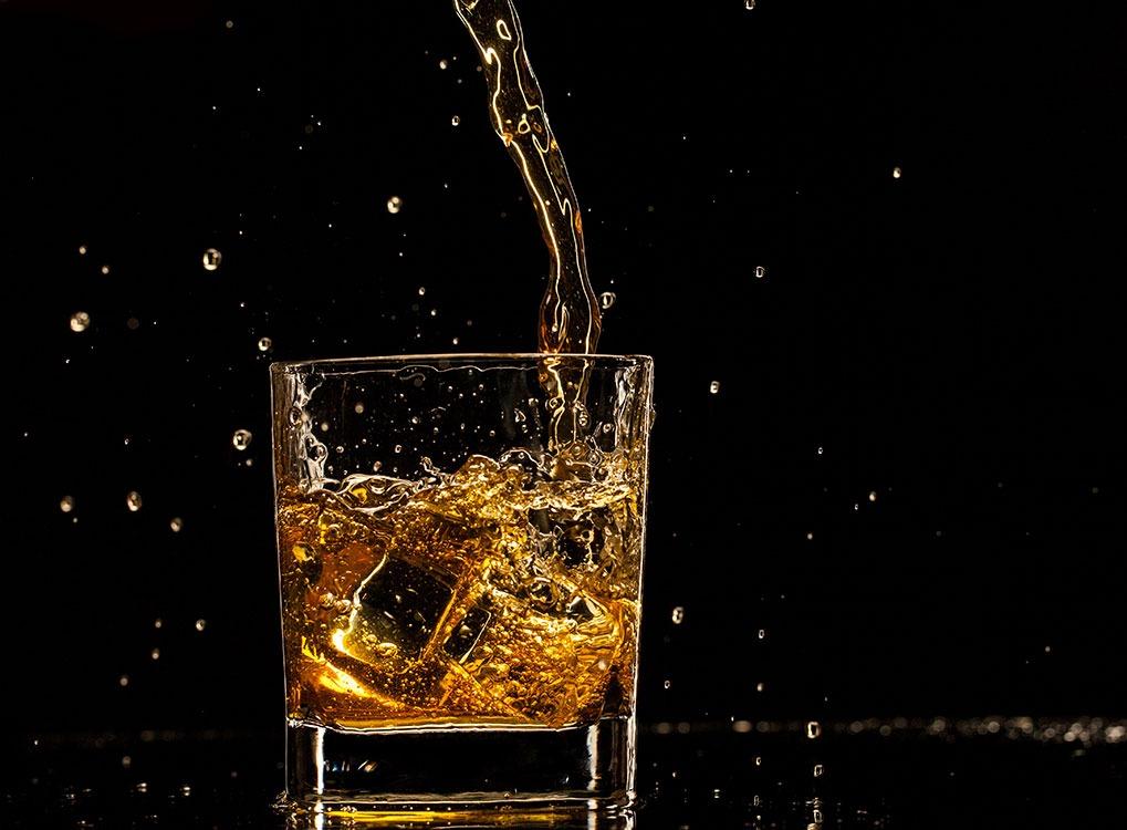 whiskey, over 40