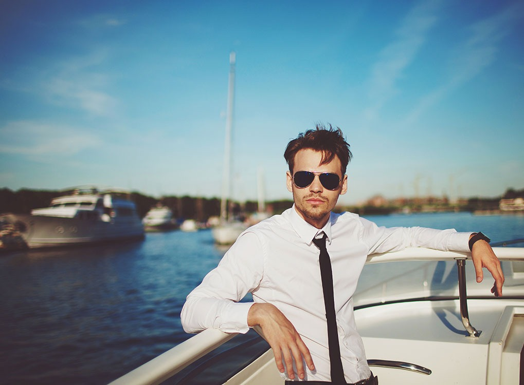 man-in-sunglasses, healthy skin after 40