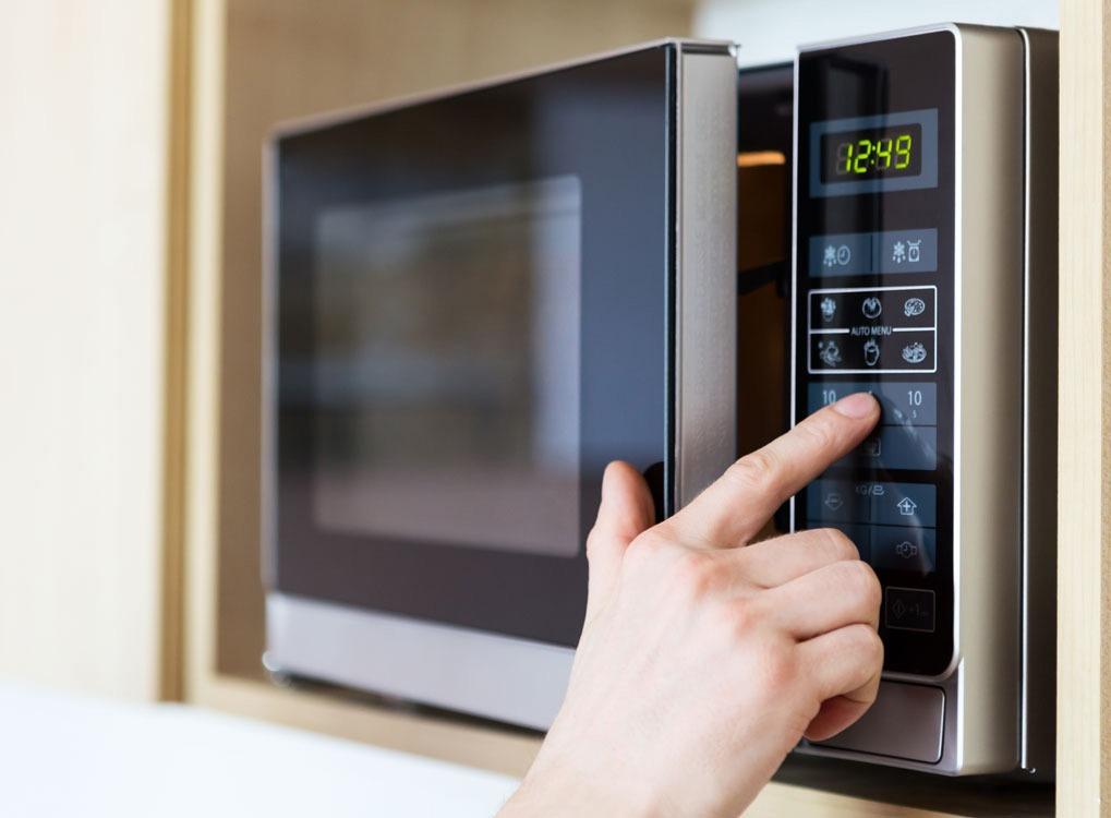 microwave prepared food