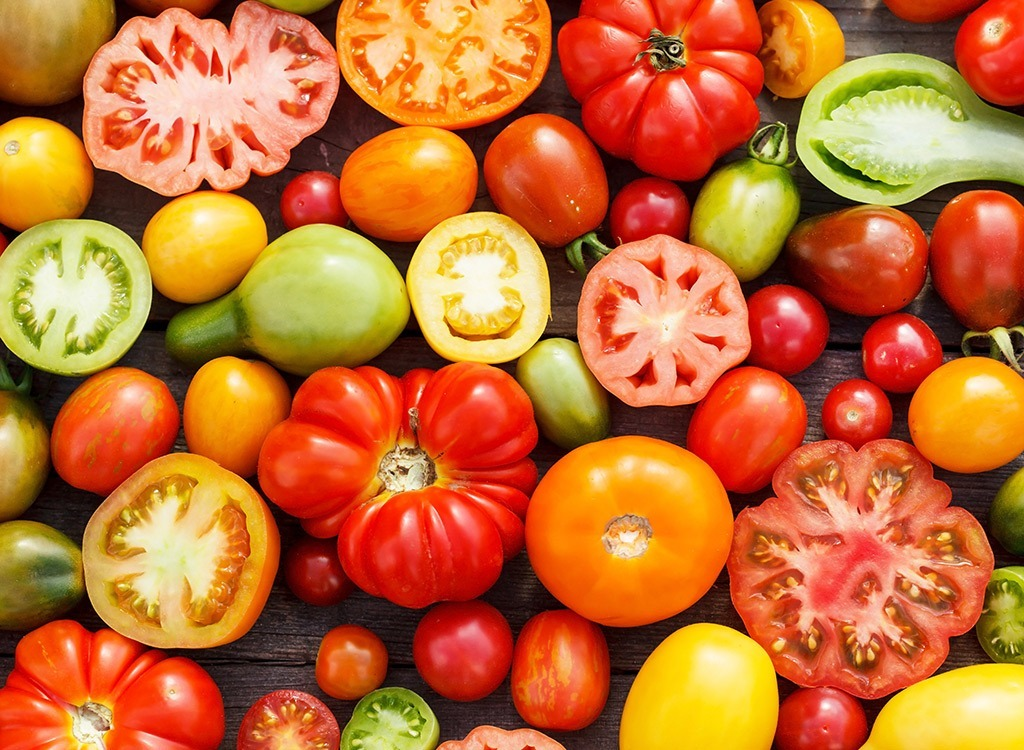 heirloom tomatoes are a fancy foodie term