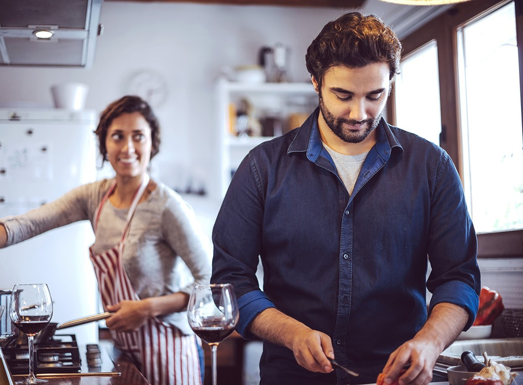 spending time in the kitchen can make you instantly happy