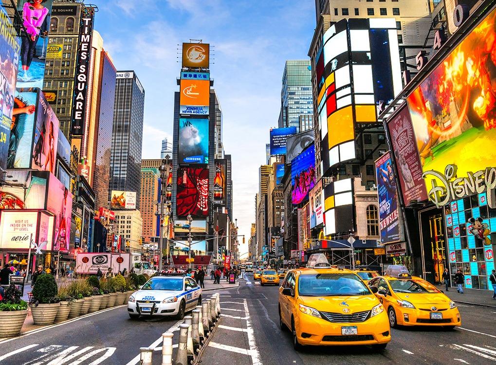 New York, NYC, happiest cities, best singles scenes