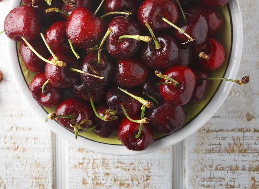Cherries Alzheimer's Risk
