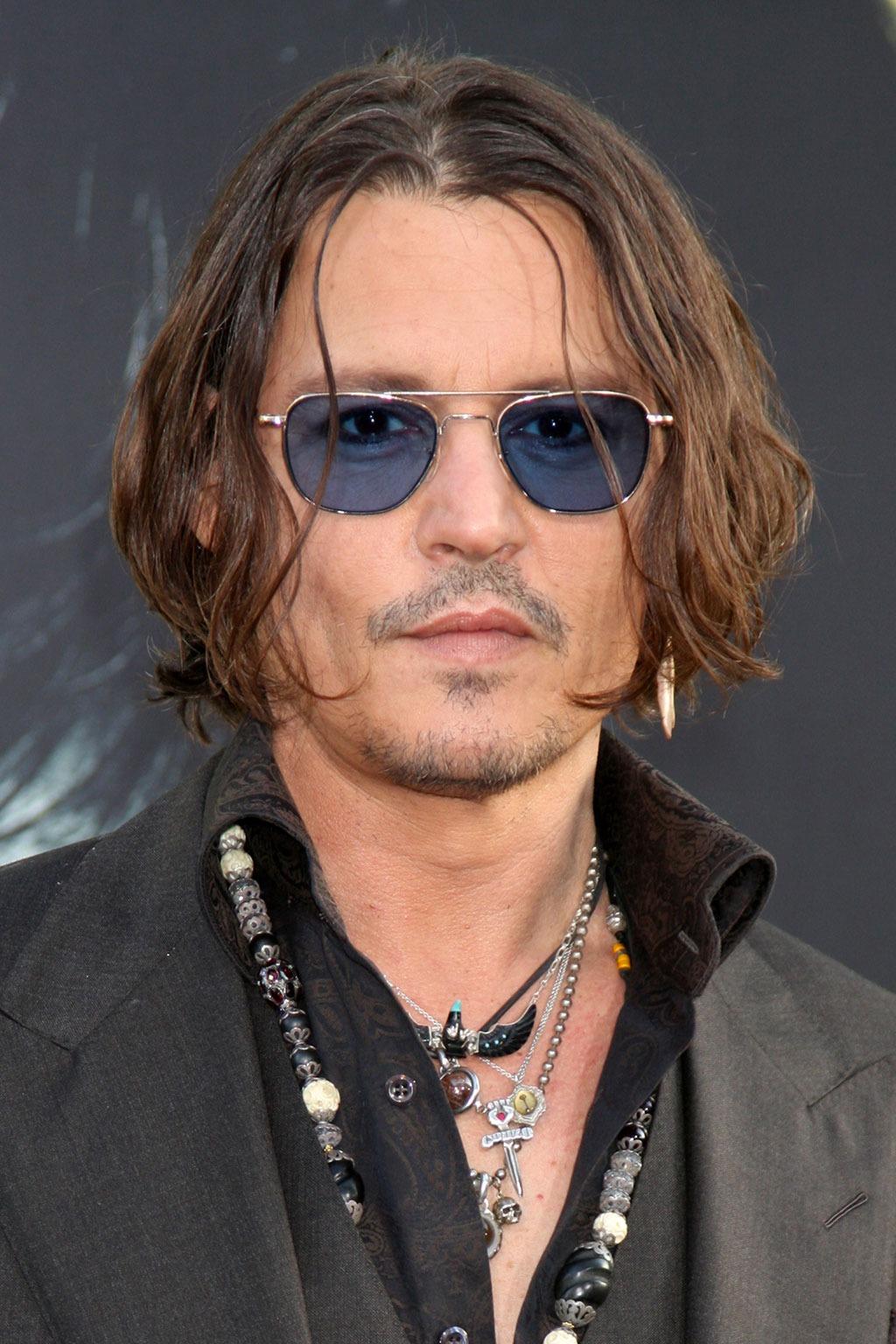 Johnny Depp hairstyles for men over 40