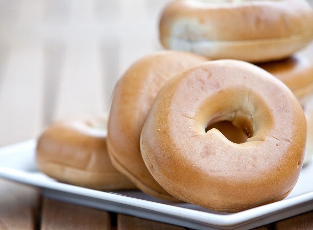 Bagels for breakfast crummy