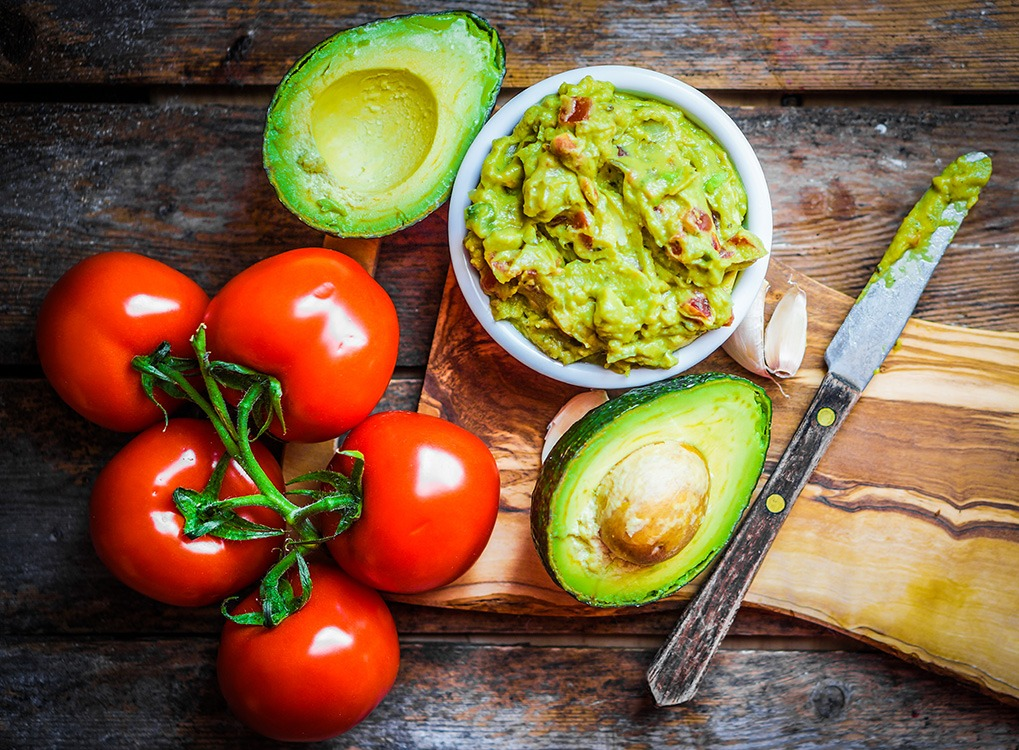 tomatoes and avocados; food synergy
