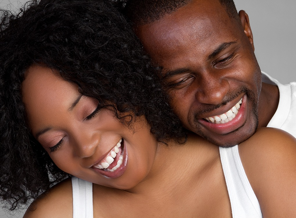 Happy Couple Smiling boost Metabolism