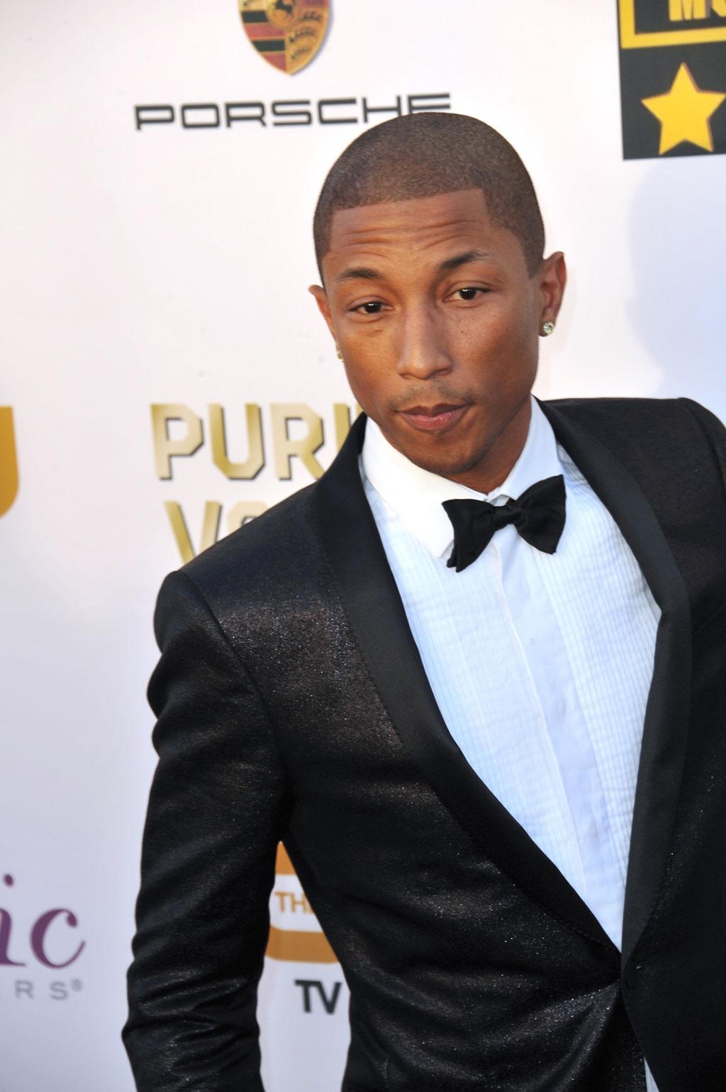 Pharrel_Williams hairstyles for men over 40